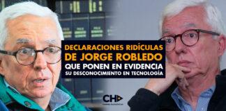 Declaraciones RIDÍCULAS de Jorge Robledo que ponen en evidencia su desconocimiento en tecnología