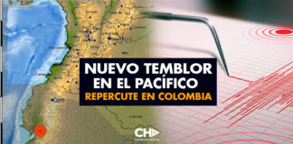 Nuevo Temblor en el Pacífico repercute en Colombia