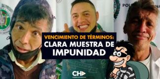 Vencimiento de Términos: Clara muestra de IMPUNIDAD