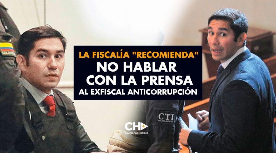 """La fiscalía """"recomienda"""" no hablar con la prensa al exfiscal anticorrupción"""