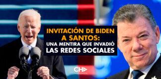 Invitación de Biden a Santos: Una Mentira que invadió las Redes Sociales