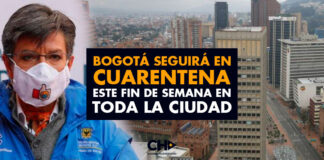 Bogotá seguirá en cuarentena este fin de semana en TODA LA CIUDAD
