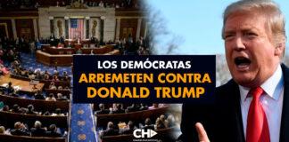 Los Demócratas arremeten contra Donald Trump