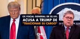 """Ex fiscal general de EE.UU. acusa a Trump de """"traicionar su cargo"""""""