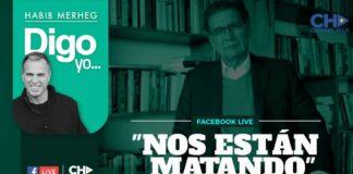 """""""NOS ESTÁN MATANDO"""""""