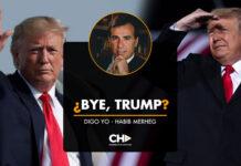 ¿Bye, Trump?
