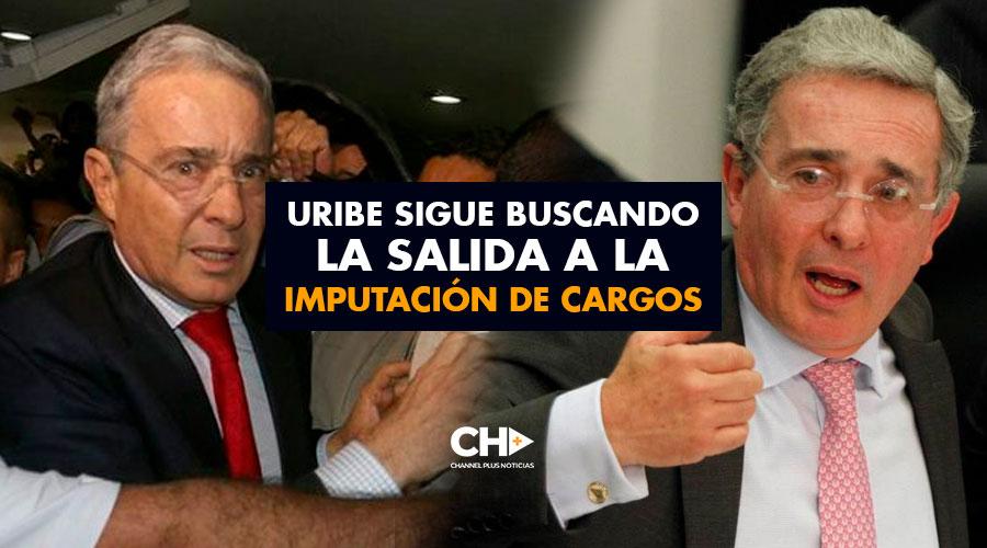 Uribe sigue buscando la salida a la imputación de cargos