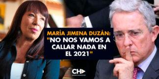 """María Jimena Duzán: """"No nos vamos a callar nada en el 2021"""""""