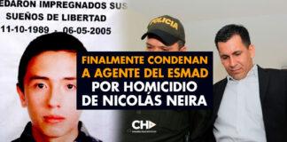 Finalmente condenan a agente del ESMAD por homicidio de Nicolás Neira