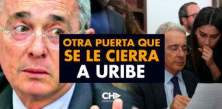 Otra puerta que se le CIERRA a Uribe