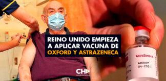 Reino Unido empieza a aplicar vacuna de Oxford y AstraZeneca