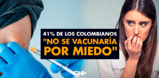 """41% de los Colombianos """"No se vacunarían por MIEDO"""""""