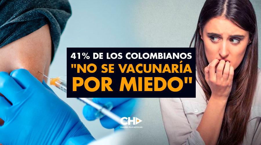 41% de los Colombianos