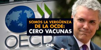 Somos la vergüenza de la OCDE: CERO VACUNAS