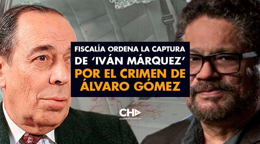Fiscalía ordena la captura de 'Iván Márquez' por el crimen de Álvaro Gómez