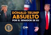 Donald Trump ABSUELTO por el Senador de EU