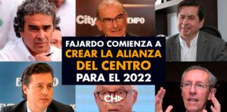 Fajardo comienza a crear la ALIANZA del Centro para el 2022
