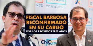 Fiscal Barbosa reconfirmado en su cargo por los próximos tres años