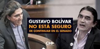 Gustavo Bolívar NO está seguro de continuar en el Senado