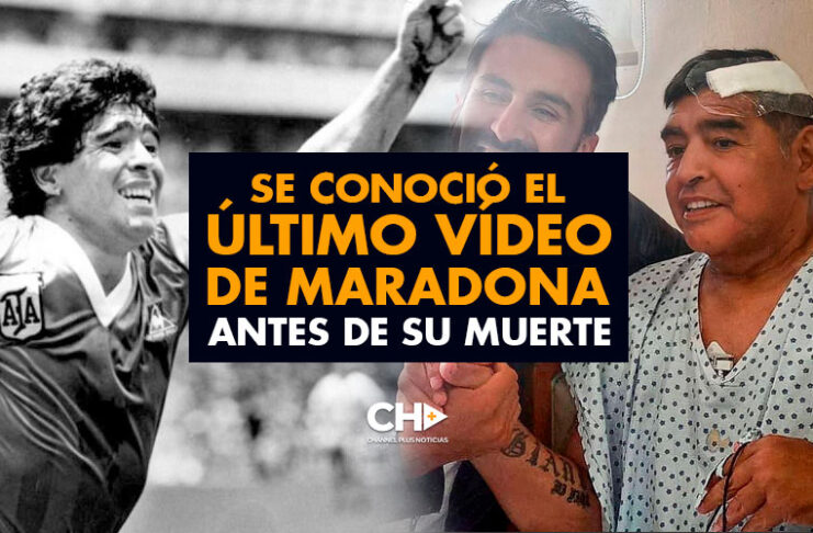 Se conoció el ÚLTIMO vídeo de Maradona antes de su muerte