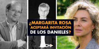 ¿Margarita Rosa aceptará invitación de los Danieles?