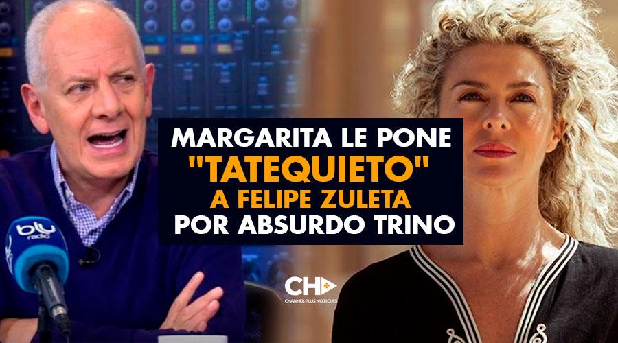 Margarita le pone