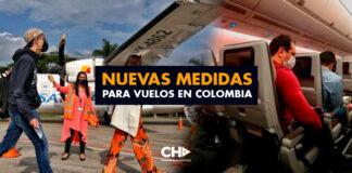 Nuevas medidas para vuelos en Colombia