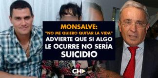 """MONSALVE: """"No me quiero quitar la vida"""" Advierte que si algo le ocurre no sería SUICIDIO"""