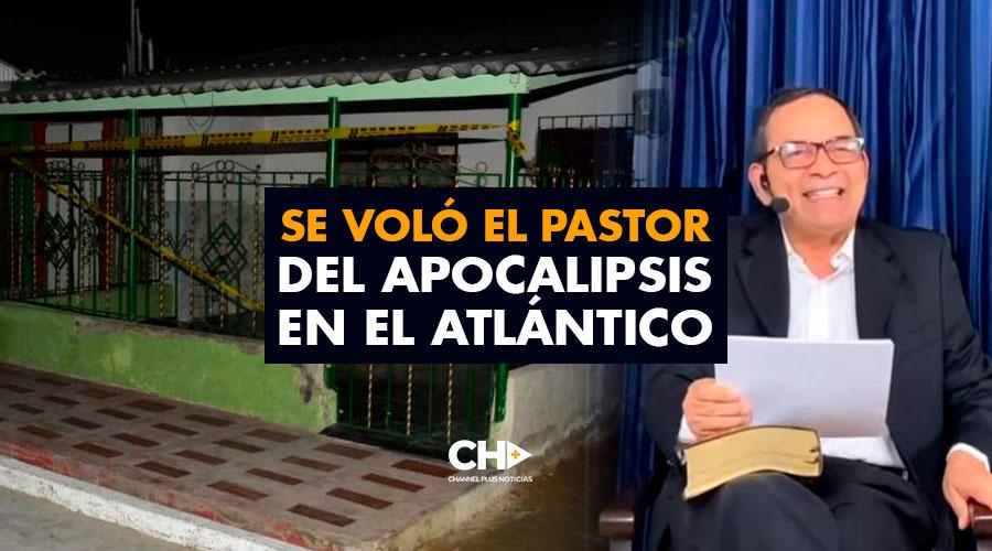 Se VOLÓ el Pastor del Apocalipsis en el Atlántico