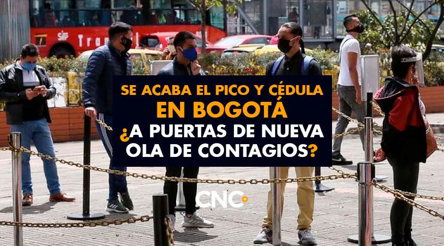 Se acaba el Pico y Cédula en Bogotá ¿A puertas de nueva ola de contagios?