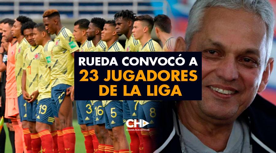 Rueda convocó a 23 jugadores de la liga
