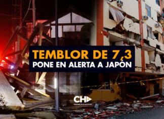 Temblor de 7,3 pone en alerta a Japón