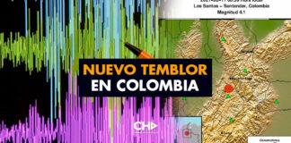 Nuevo TEMBLOR en Colombia