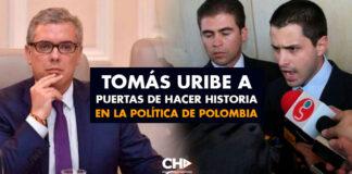 Tomás Uribe a puertas de hacer historia en la política de Polombia