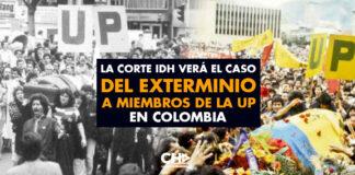 La CorteIDH verá el caso del exterminio a miembros de la Unión Patriótica en Colombia