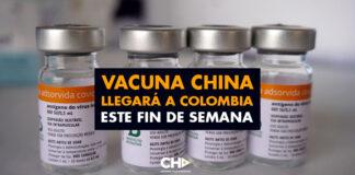 Vacuna China llegará a Colombia este fin de semana
