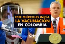 Este miércoles inicia la Vacunación en Colombia