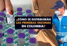 ¿Cómo se distribuirán las primeras vacunas en Colombia?