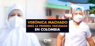 Verónica Machado será la primera vacunada en Colombia