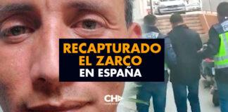 Recapturado el ZARCO en España