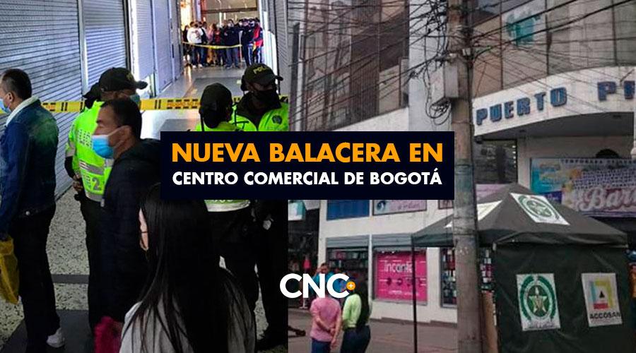 Nueva balacera en Centro Comercial de Bogotá