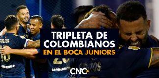 Tripleta de colombianos en el Boca Juniors