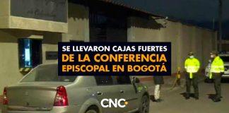 Se llevaron cajas fuertes de la Conferencia Episcopal en Bogotá