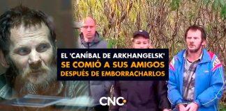 El 'caníbal de Arkhangelsk' se comió a sus amigos después de emborracharlos