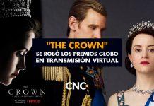 """""""The Crown"""" se robó los premios Globo en transmisión virtual"""
