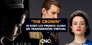 """The Crown"" se robó los premios Globo en transmisión virtual"