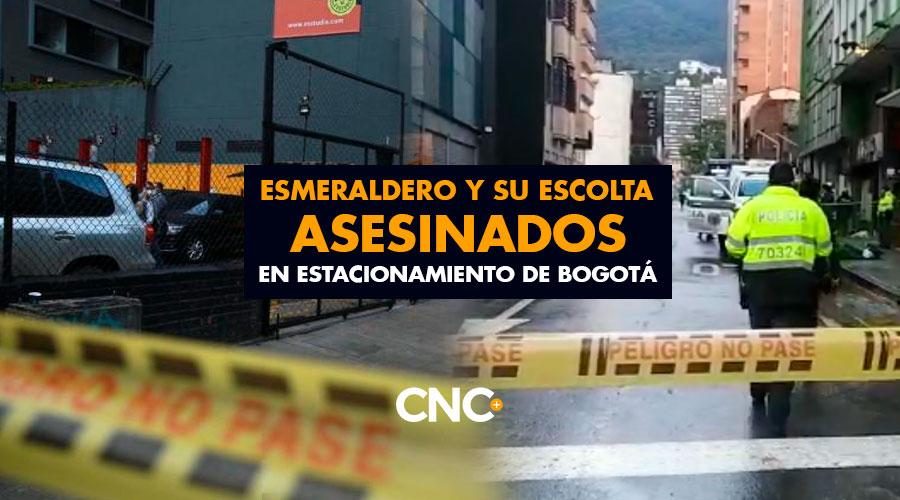 Esmeraldero y su escolta ASESINADOS en estacionamiento de Bogotá