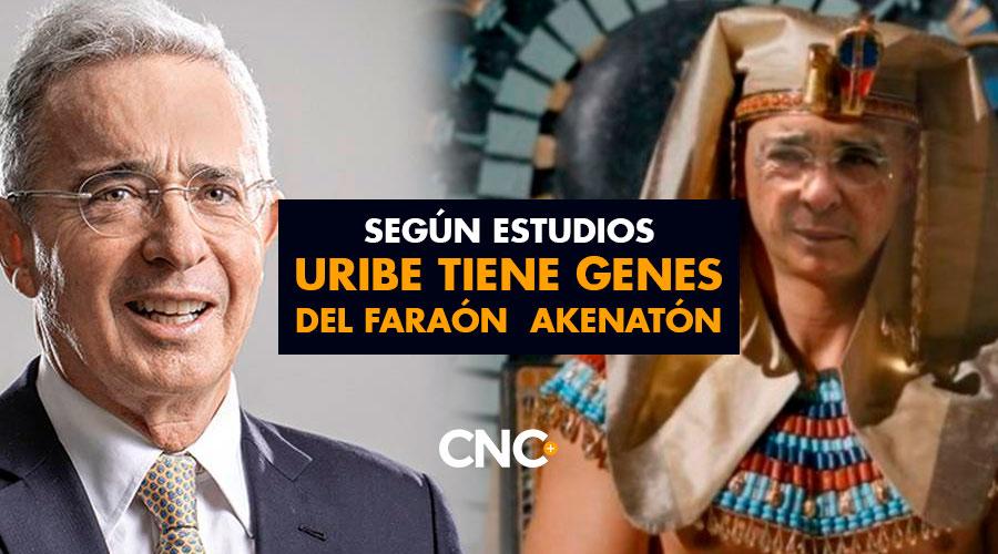 Según estudios URIBE tiene genes del Faraón Akenatón
