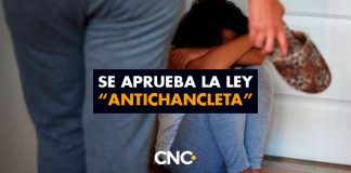 """Se aprueba la ley """"Antichancleta"""""""