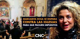 Margarita Rosa se dispara contra las iglesias para que paguen impuestos